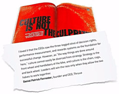 Culture, Strategy and Harvard Business Review